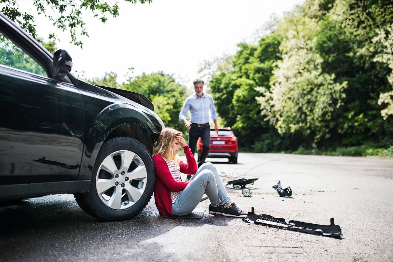 mistakes after car accident