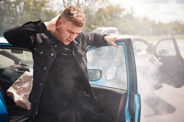 What kind of back injuries can you sustain from a car accident