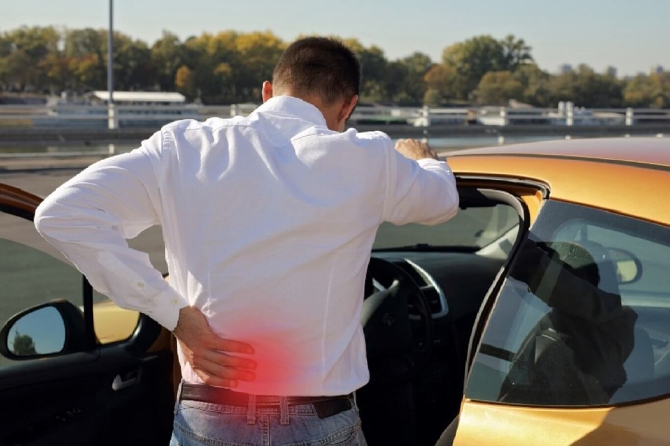 back injury from car accident