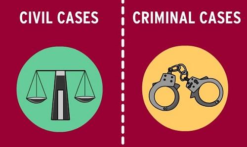 civil vs criminal cases