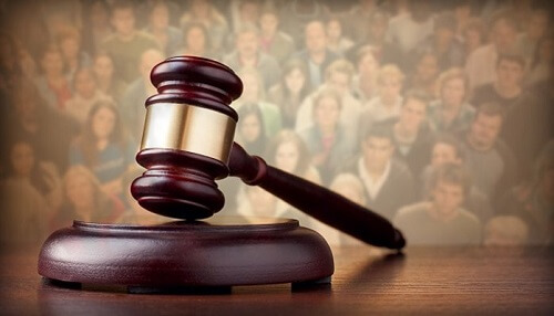steps in criminal cases