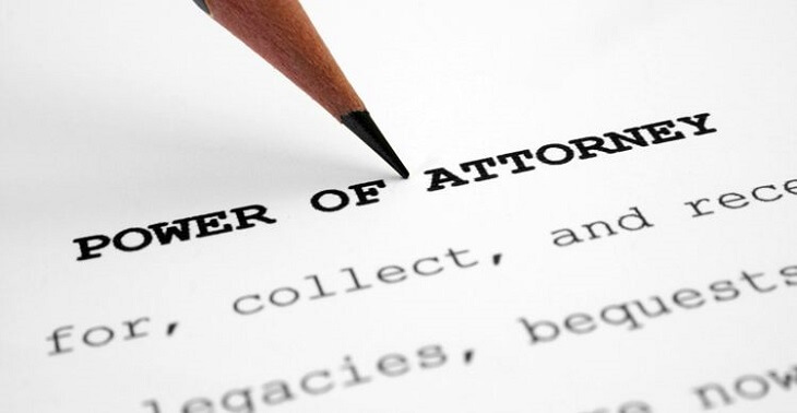 Validity of the Power of Attorney