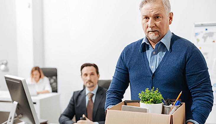 Dismissal procedure under the older workers benefit protection act