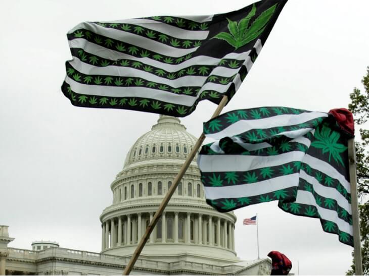 Federal laws of marijuana legalization