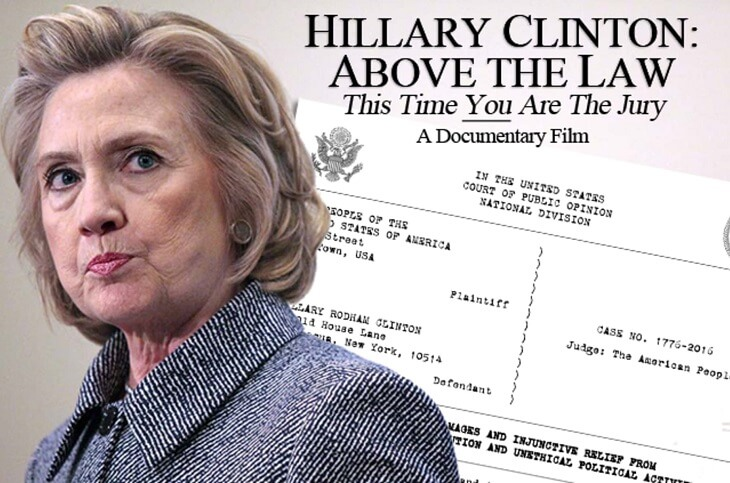 Is Hillary Clinton above the law