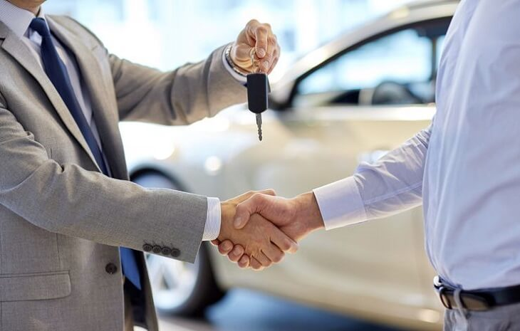 The decision to not sell the car by a creditor