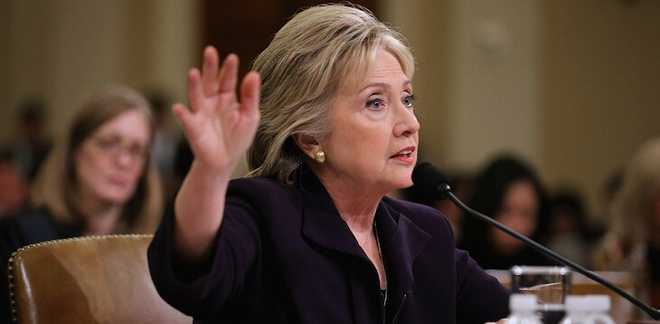 Why is Hillary Clinton above the law'
