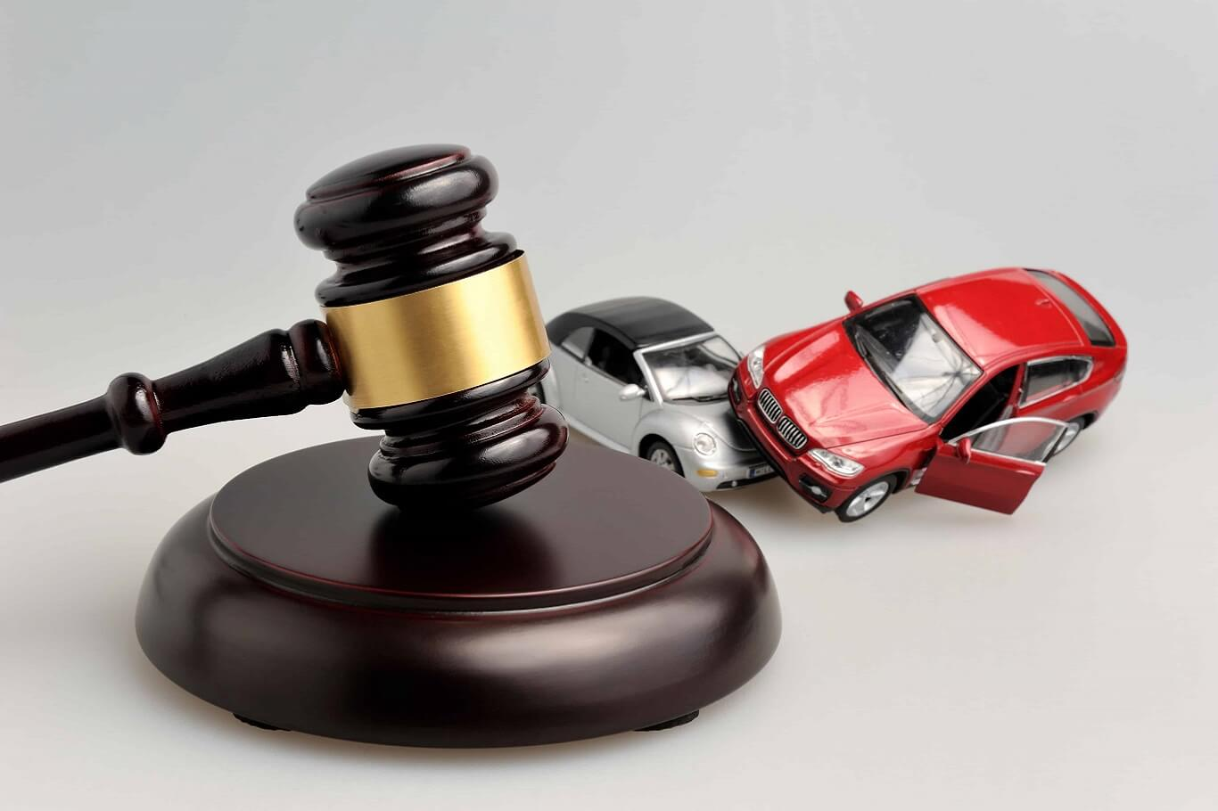 being sued for car accident