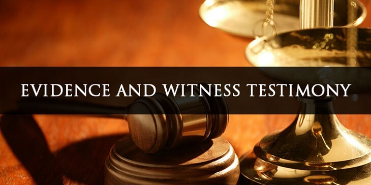 evidence-witness-testimony