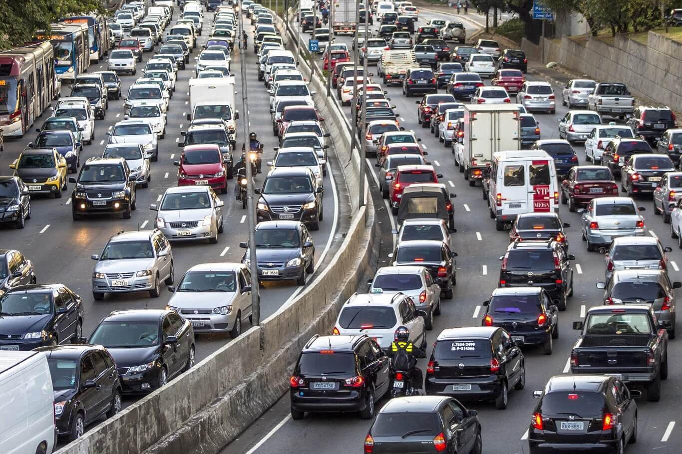 impeding traffic
