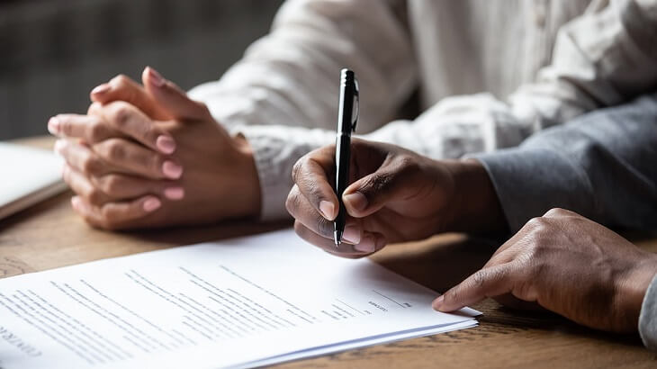 lawyer to draft a hold harmless agreement