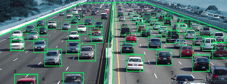 How do traffic cameras operate