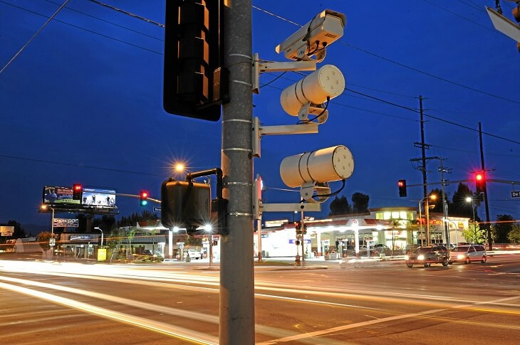 How long does a traffic camera keep the record