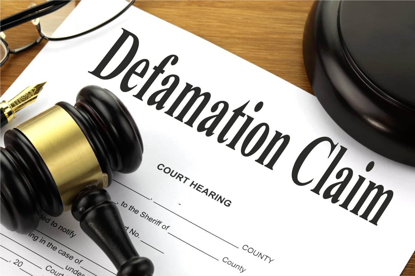 how to file defamation lawsuit