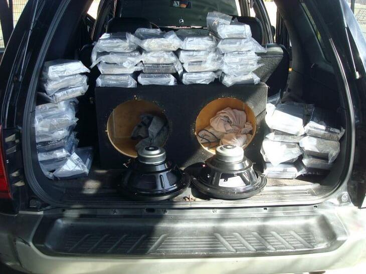 drug in car