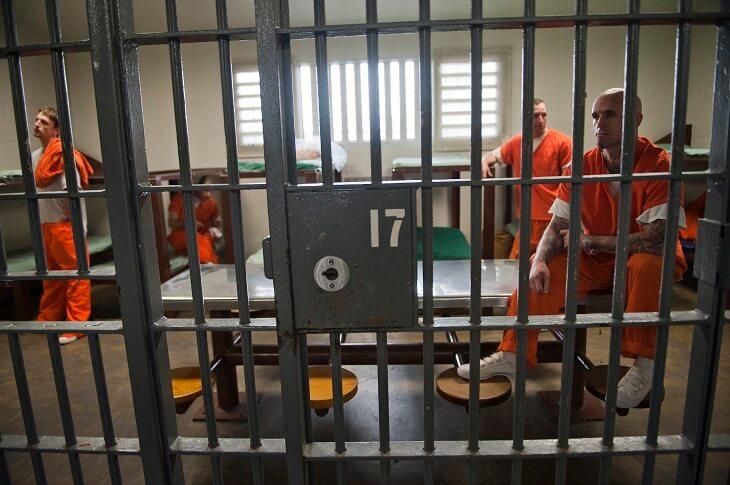 prisoner for drug charge