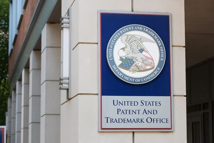 Check records at US Patent and Trademark Office