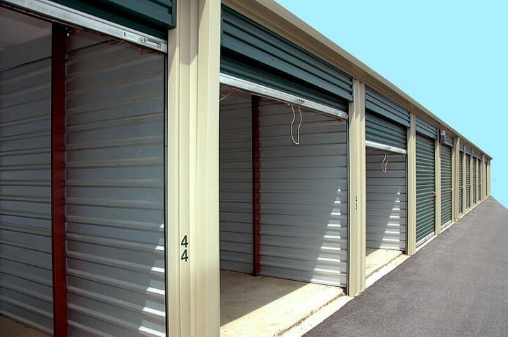 Has anyone experienced living in a storage unit
