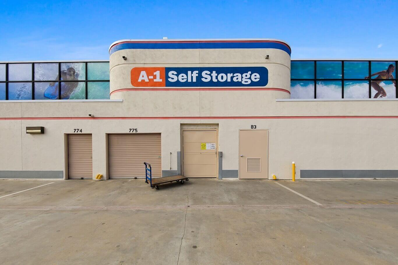 Is it illegal to live in a storage unit in California?