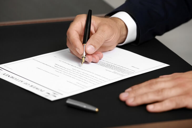 Signing Power of Attorney