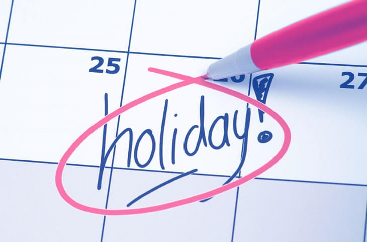 Holidays pay overtime