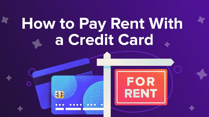 how to pay rent using credit card