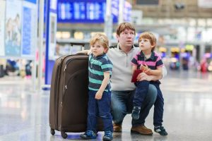minor traveling with one parent