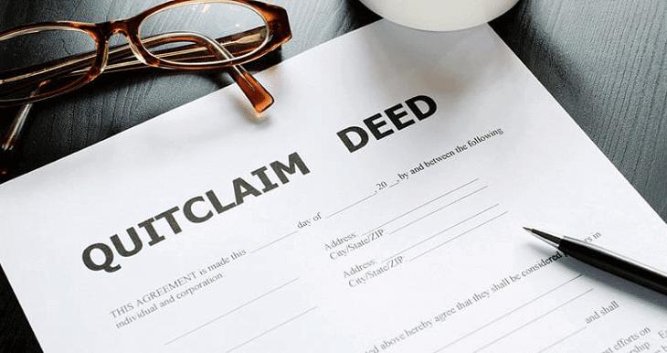 Quitclaim deeds