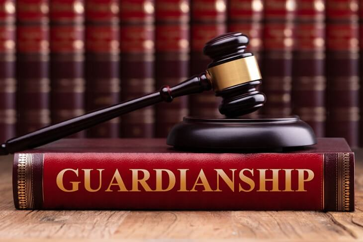 a legal guardian
