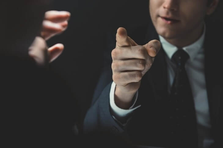 Defending yourself against a false accusation