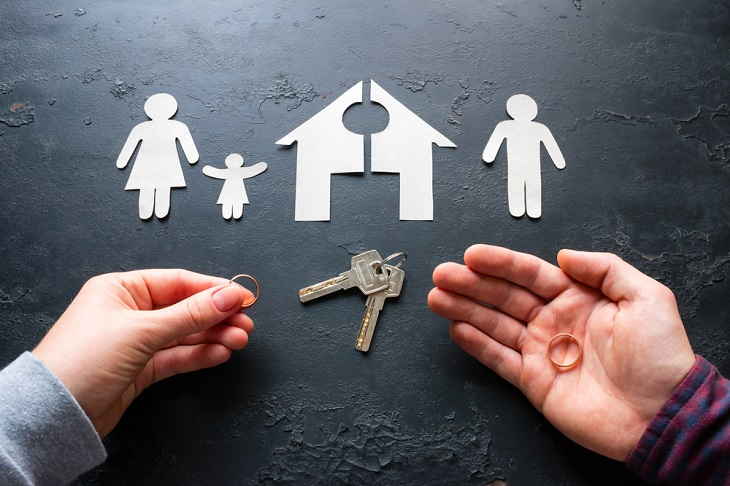 What is the difference between the custodial parent and non-custodial parent