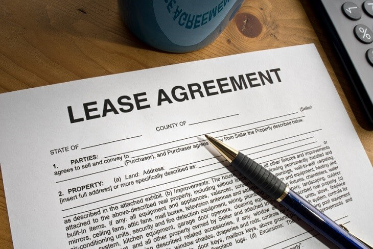 Possible consequences of breaking a lease