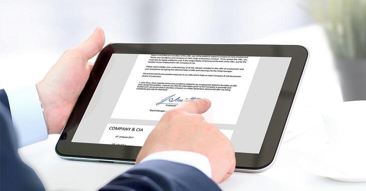 What are e-signatures